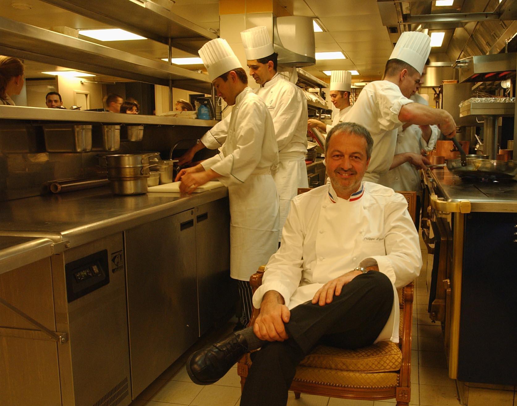 Philippe Legendre, chef étoilé du Georges V