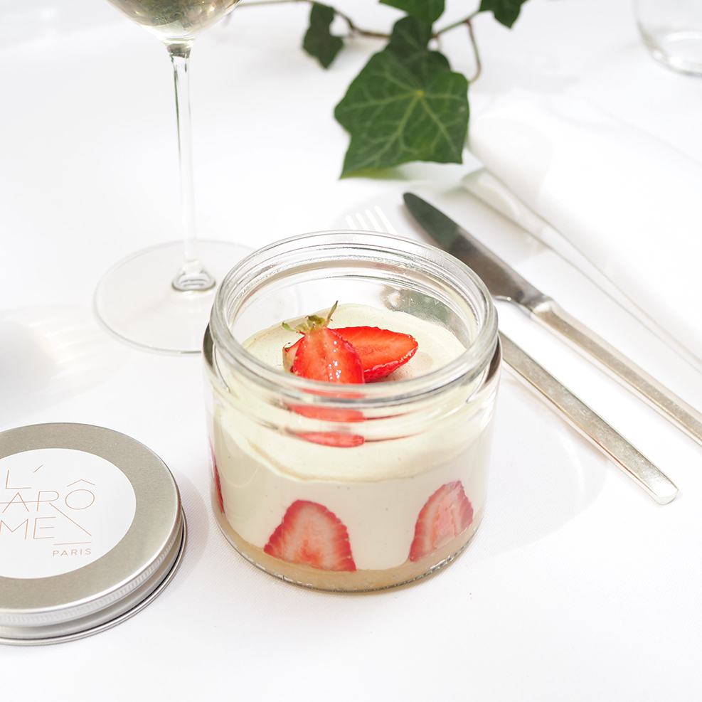 Dessert proposé par l'Arôme